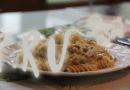 Макароны с грибами в сливочном соусе
